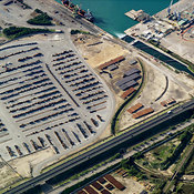 Port of Taranto, Steel and Ore