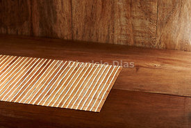 Wooden background in rustic planks.