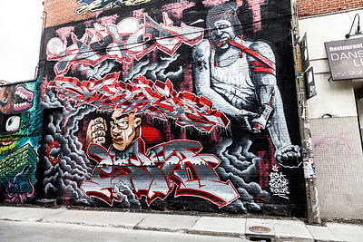Streets and street art, Montreal, 2015