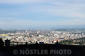 Linz seen from Pöstlingberg