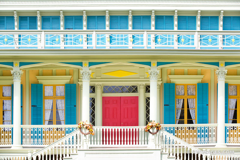 SAN FRANCISCO PLANTATION HOUSE LOUISIANA COLOR