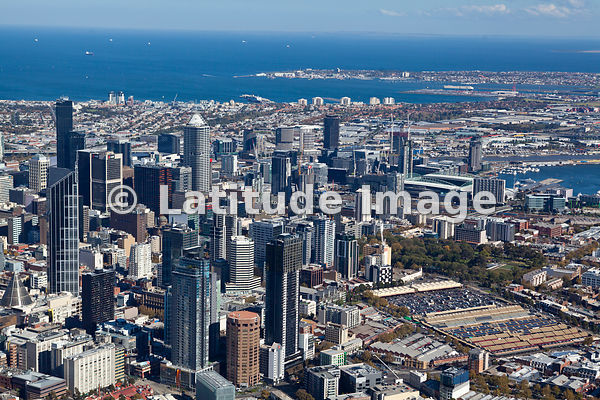 Melbourne: possibly the world´s greatest place to live; By Brett Price  aerial photos