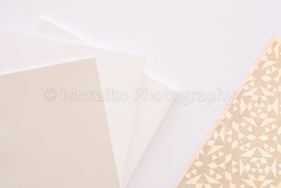 Creative design -  ornament paper from above - copyspace for your text - top view