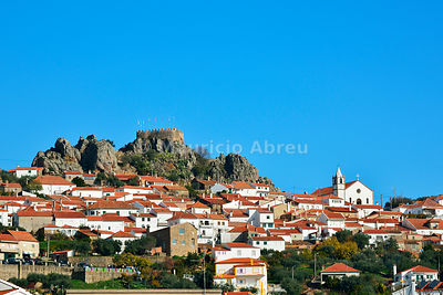 The traditional village of Penha Garcia. Beira Baixa, Portugal
