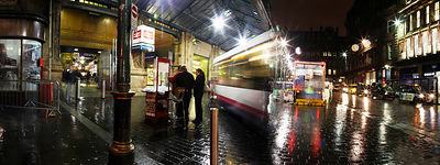 12.11.12.Panoramic shots around Central Station..Gordon Street..Picture Copyright:.Iain McLean,.79 Earlspark Avenue,.Glasgow.G43 2HE.07901 604 365.photomclean@googlemail.com.www.iainmclean.com.All Rights Reserved.No Syndication.