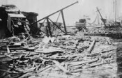 After Galveston Storm, 1915 -- Pier 19