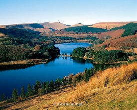 pontsticill reservoir brecon beacons national park wales