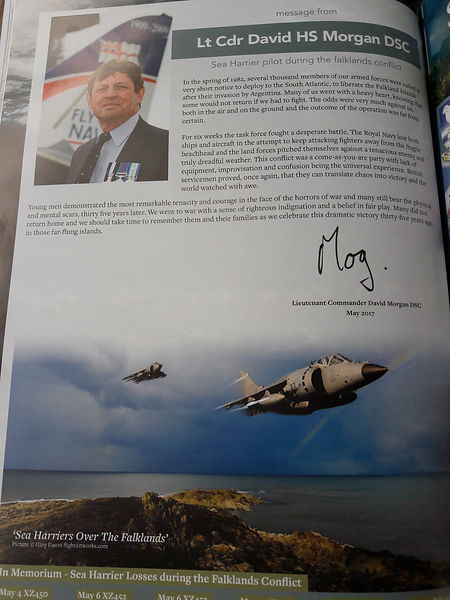 35th anniversary Falklands Conflict Commemorative Journal