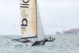 Be Light, HUN 18, 18ft Skiff, Euro Grand Prix Sandbanks 2016, 20160904150