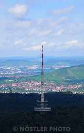 The view from Fernseturm Stuttgart