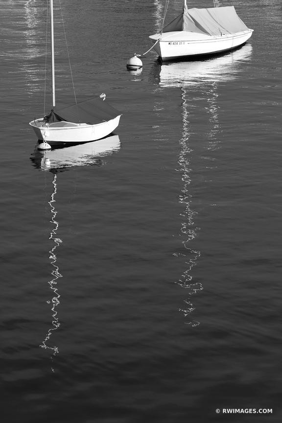 ROCKPORT CAPE ANN MASSACHUSETTS BLACK AND WHITE VERTICAL