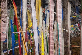 Prayer flags at Docula Pass, which is the most known pass in Bhutan, is just a 30 odd km drive from the Capital City Thimphu on the way to central Bhutan.