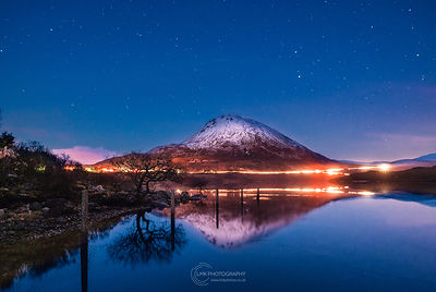 Errigal Blue Hour