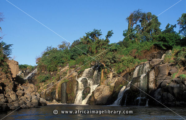 Awash falls on the Awash River, Awash National Park, Ethiopia