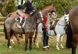 at the meet - The Cottesmore Hunt at Braunston 8/11