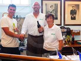 Prize-giving at Weymouth Regatta 2018, 20180909005.