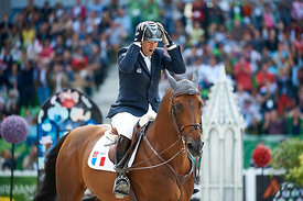 DELAVEAU, Patrice, (FRA), Orient Express HDC during Second round Individual competition at Alltech World Equestrian Games at Stade Michel D' Ornano, Caen - France