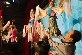 Chinese puppet theatre