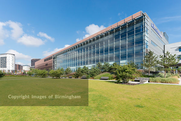 Millennium Point and Birmingham City University in Birmingham