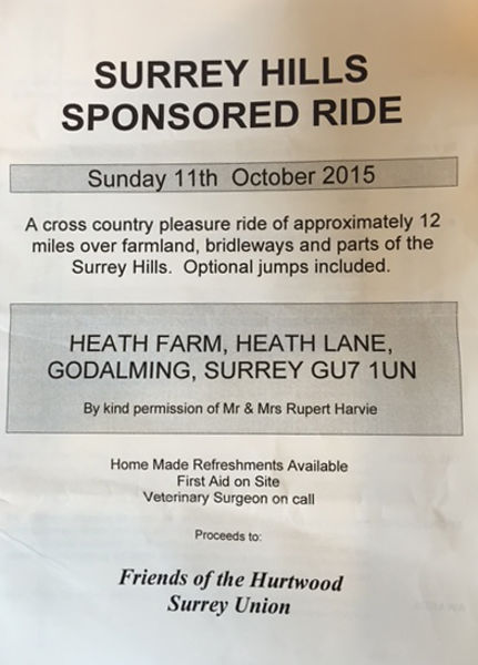 Surrey Hills Sponsored Ride 2015 photos