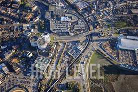Aerial Photography Taken In and Around Poole-Barclays House