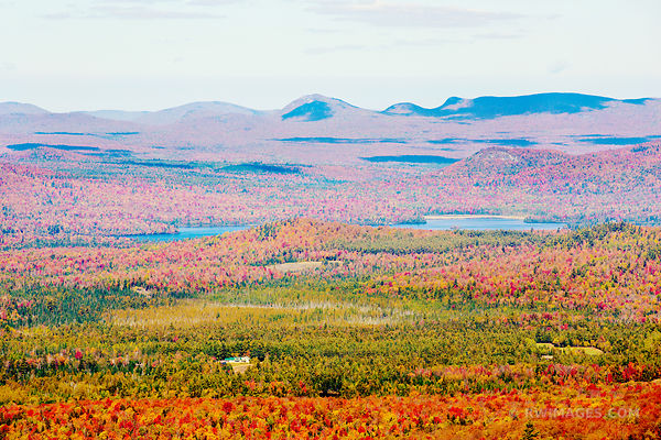 ADIRONDACK MOUNTAINS FALL AUTUMN COLORS