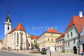 St. Gilles Church and Monastery, Trebon, Czech Republic
