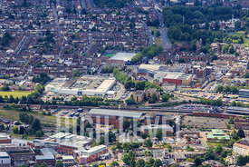 Aerial Photography Taken In and Around Gloucester-Leisure Centre