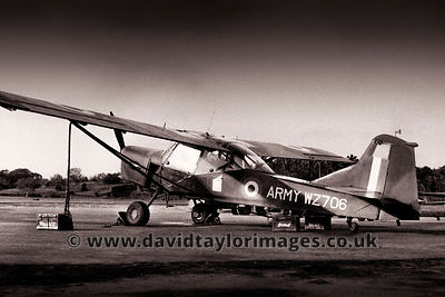 Auster AOP.9 WZ706 | 656 Sqdn Army Air Corps  | Changi September 1961