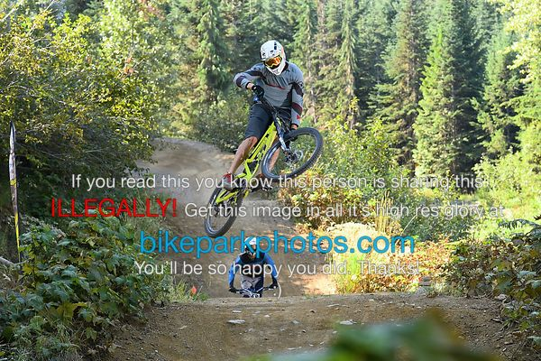 Tuesday August 28th - Aline First Hit bike park photos