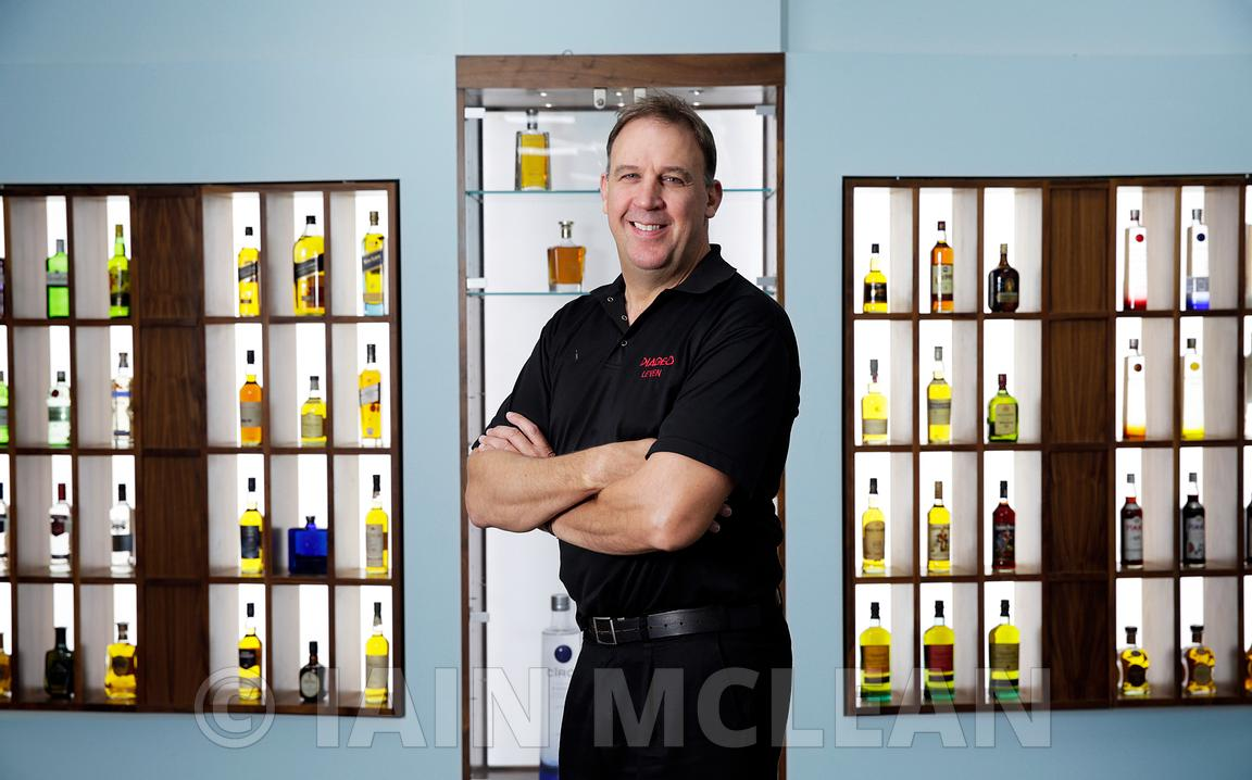 Diageo, Leven, Scotland..3.9.15.The Diageo bottling plant in Leven, Fife..Photographed for Findlay Media - Factory of the Year..Pictured: David Light, Site Director..Picture Copyright:.Iain McLean,.79 Earlspark Avenue,.Glasgow.G43 2HE.07901 604 365.photomclean@googlemail.com.www.iainmclean.com.All Rights Reserved.No Syndication