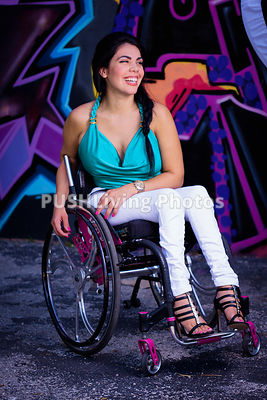wheelchair Model in Miami, Florida