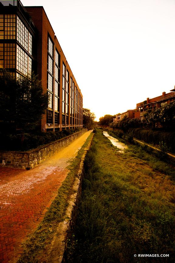 C & O CANAL GEORGETOWN WASHINGTON DC