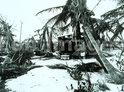 Homes destroyed by Hurricane Donna, 1960