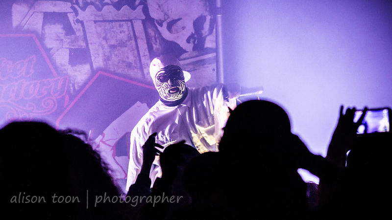 Blaze Ya Dead Homie and mystery man, Casket Factory Tour