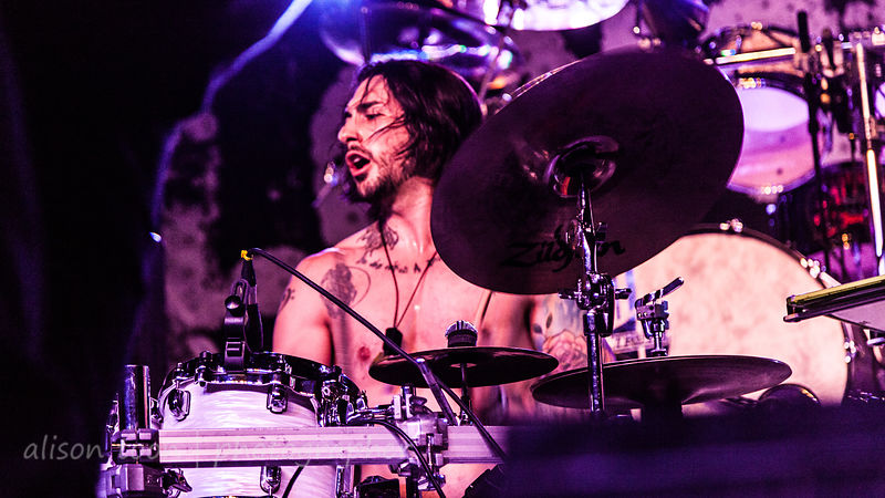 Tim D'Onofrio, drums, From Ashes To New