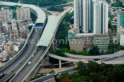 Tai Wai, Tai Po Road and Trunk Road, Hong Kong