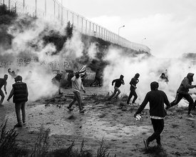 "Camp de la Lande - "" La jungle "" - Calais"