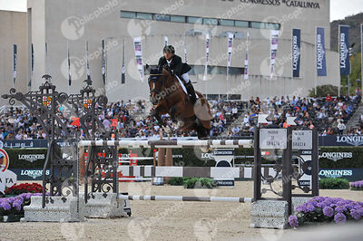 Marlon MODOLO ZANOTELLI ,(BRA), CAPTAIN CHAOS 8 during Longines Cup of the City of Barcelona competition at CSIO5* Barcelona at Real Club de Polo, Barcelona - Spain