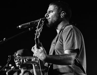 Eric Rachmany, vocals and guitar, Rebelution