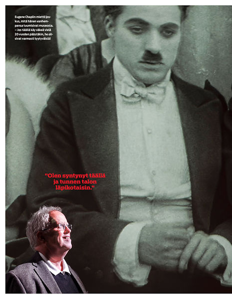 Eugène Chaplin and his father