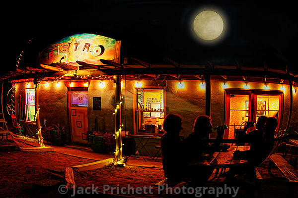Desert Night in Tecopa photos