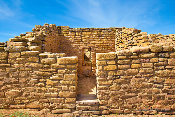 FAR VIEW HOUSE RUINS CHAPIN MESA MESA VERDE NATIONAL PARK COLORADO