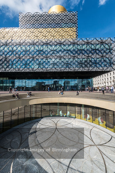 The New Library of Birmingham, Centenary Square, Birmingham, England