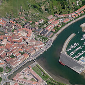 Zumaia aerial photos