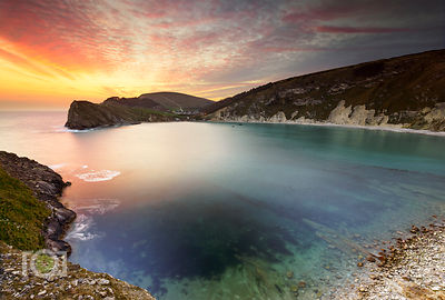 Lulworth Cove from Pepler's Point