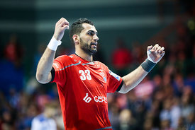 Iman Jamali during the Final Tournament - Final Four - SEHA - Gazprom league, Bronze Medal Match Meshkov Brest - PPD Zagreb, Belarus, 09.04.2017, Mandatory Credit ©SEHA/ Jozo Čabraja..