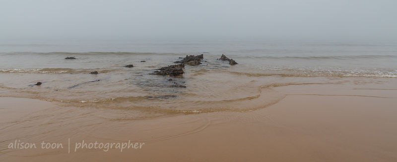 Remains of the SS Fernebo, Cromer, Norfolk