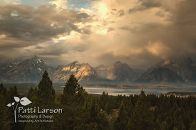 Daybreak in the Tetons