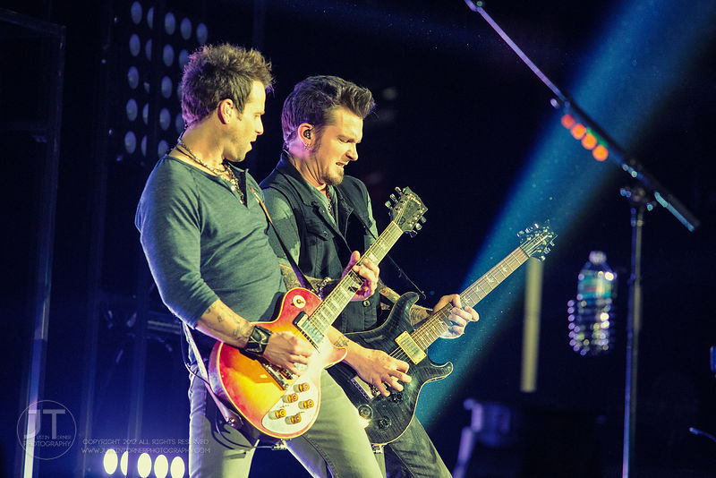Parmalee, US Cellular Center, January 30, 2015 photos